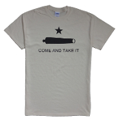Come and Take It - Cannon - Beige 100% Cotton Preshrunk Shirt