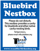 TBS Nestbox Sign